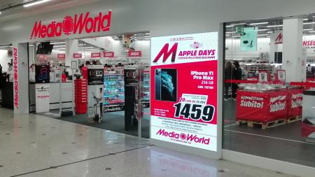 led wall da interno per digital signage e pubblicità nei negozi e attività commerciali TSA LED