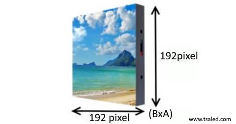 risoluzione grafica e definizione visiva led wall tsa led