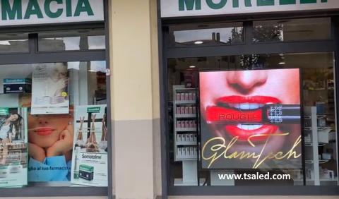 display led per vetrine negozi tsa led